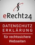 Datenschutz Siegel erecht24